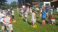 Zabawy na Zamku. Zdjęcia wspólne. 19.07.2017