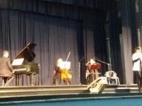 Spotkanie z muzyką . Zdjęcia wspólne. 10.10.2017