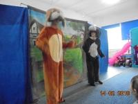 Teatrzyk w przedszkolu. Zdjęcia wspólne 14.02.2018