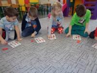 Świąteczne bingo po angielsku. Grupa Tygryski i Lwiątka. 19.12.2018