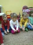 Wspólne zabawy Tygrysków i Misiaczków. Grupa Tygryski i Misiaczki. 2.04.2014