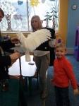 Ptaki egzotyczne w Lwiątku 24.02.2015