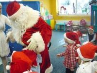 Spotkanie z Mikołajem. Zdjęcia wspólne 17.12.2015